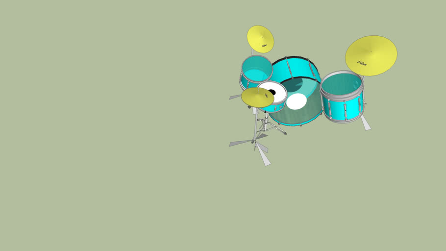 my drum kit home made
