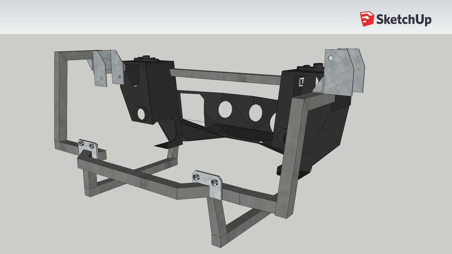 Mini VTec B16a Front Subframe