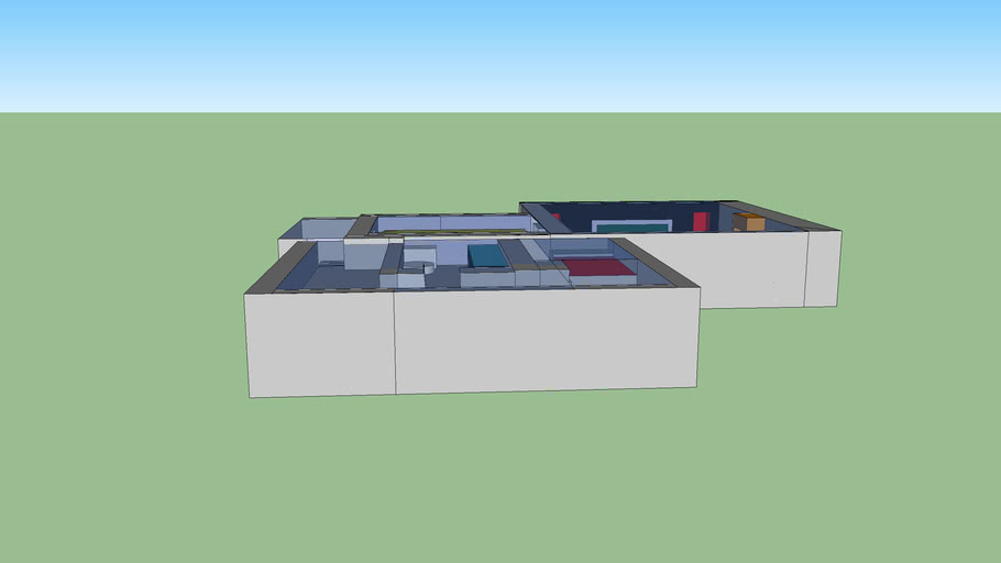 joey 3D house KLAAR