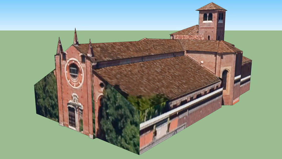 Chiesa San Pietro in Gessate in Milano, Italia