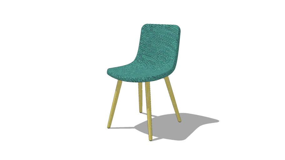 KOSTA silla patas de madera