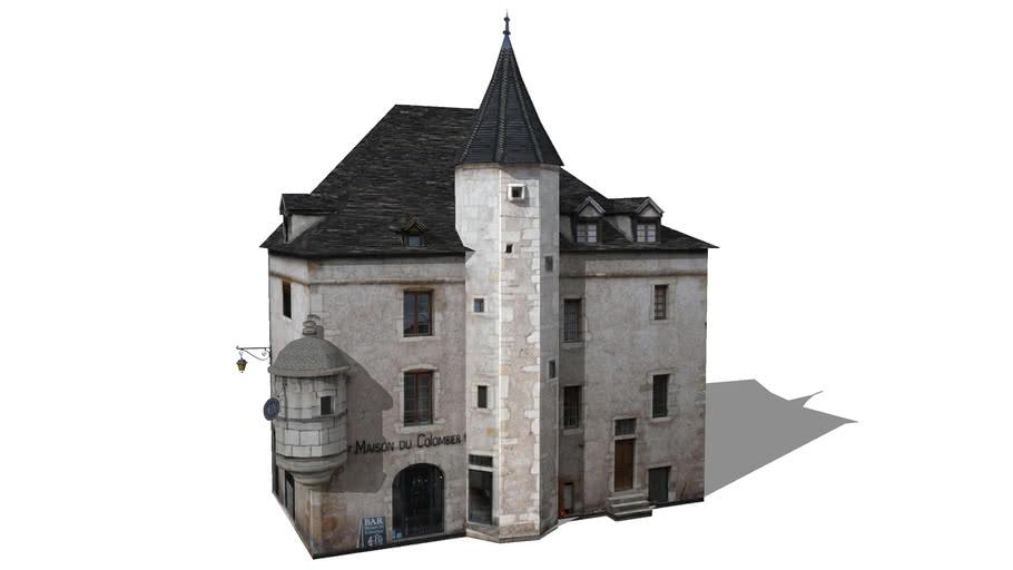 Maison du Colombier ou Maison Château-Gaillard