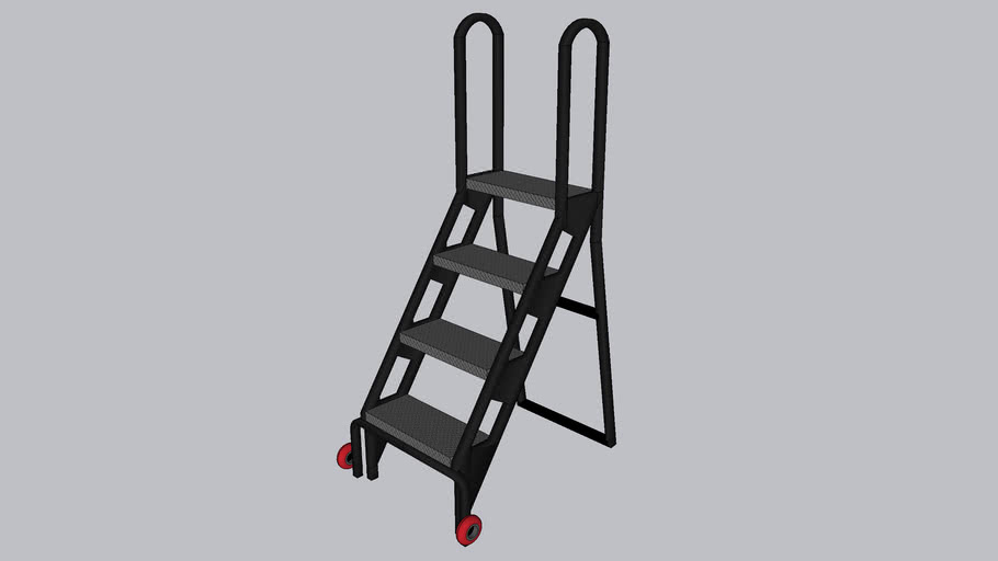 Step Ladder for 4' stage