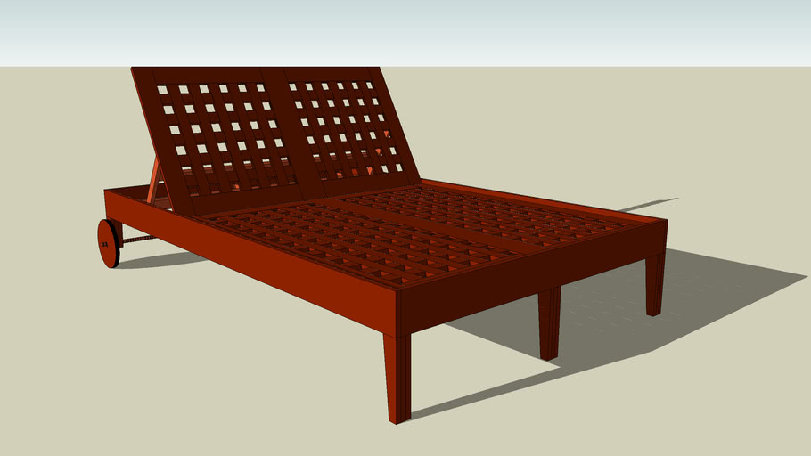 Steamer Chaise Lounge - Double