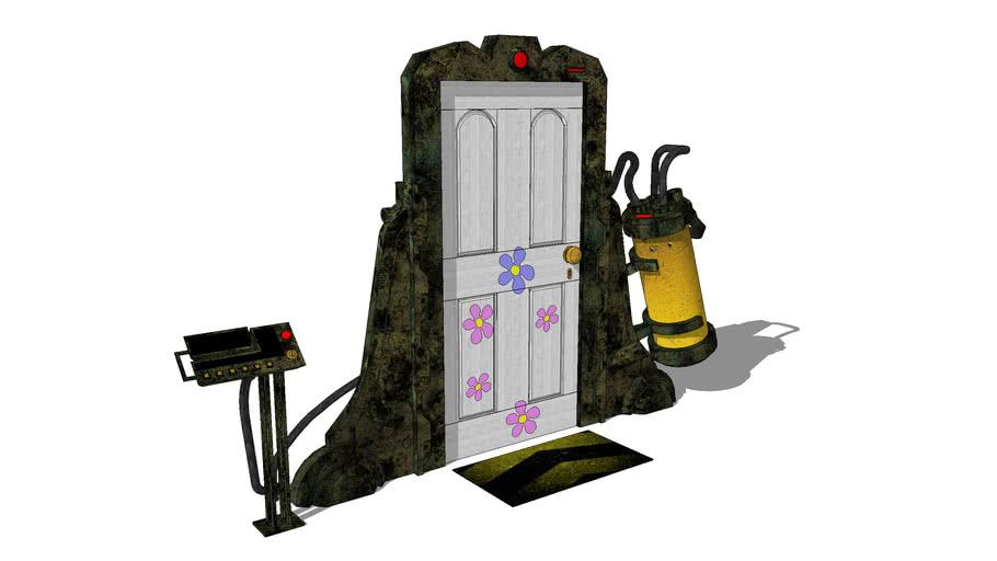 Monsters Inc The Door 3d Warehouse