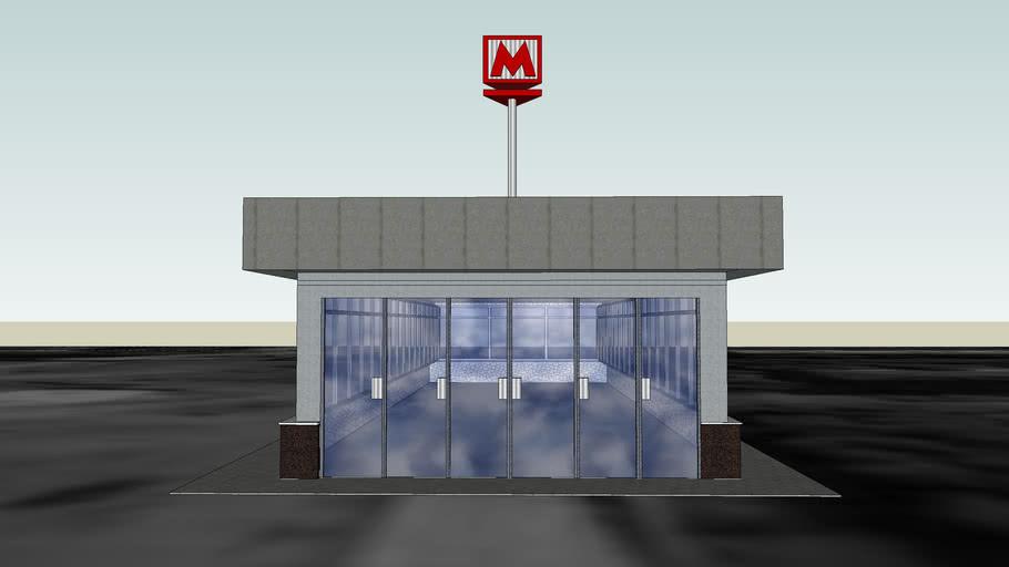Metro Stantion Moskovskaya