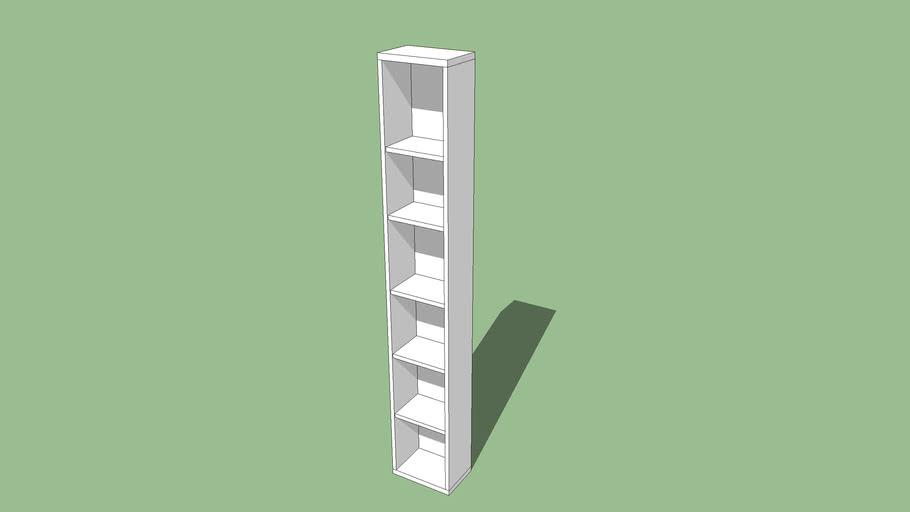 Ikea Besta 20 X 30 X 192 Cm Libreria Bookcase 3d Warehouse
