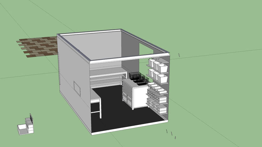Basement Craft Room Model
