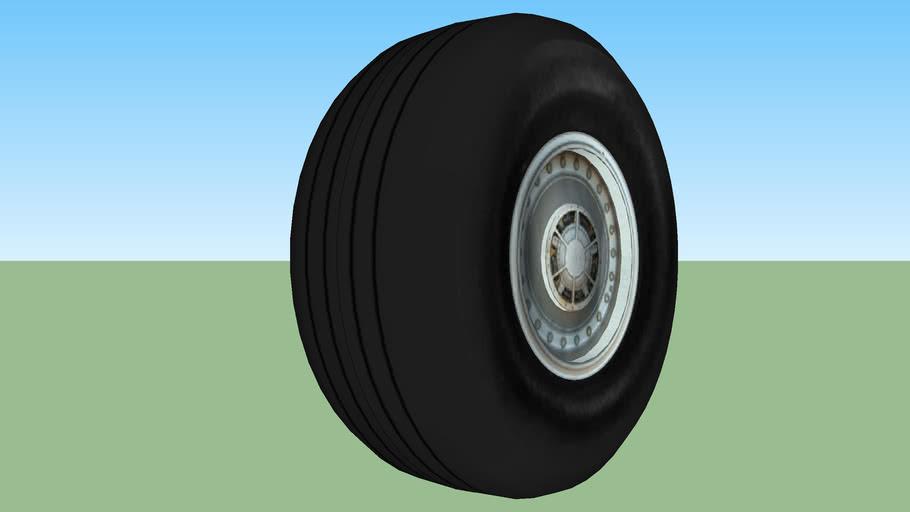 Commercial Jet Tire
