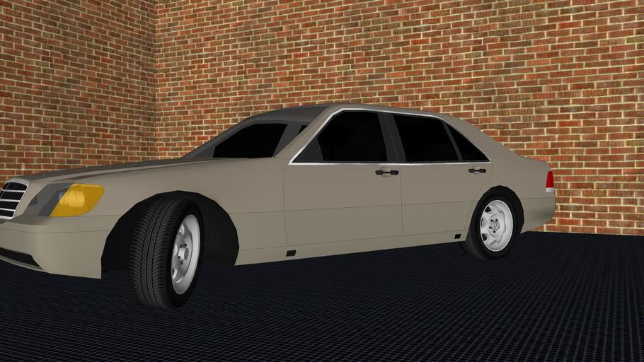 Mercedes Benz S 600 Twin Turbo v12 Long Wheel Base 1997 (w140)