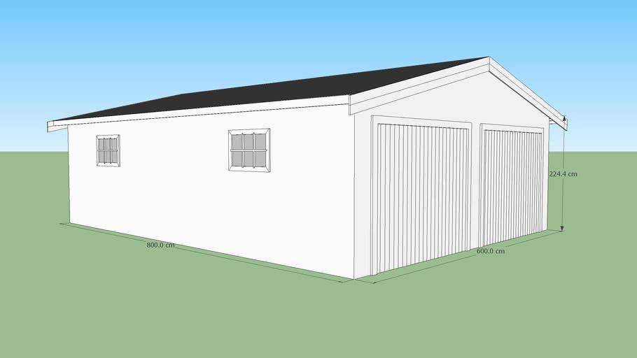 Decochalet-2015 - Double garage 600x800