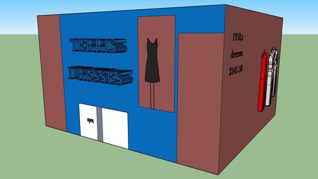 3D dress shop