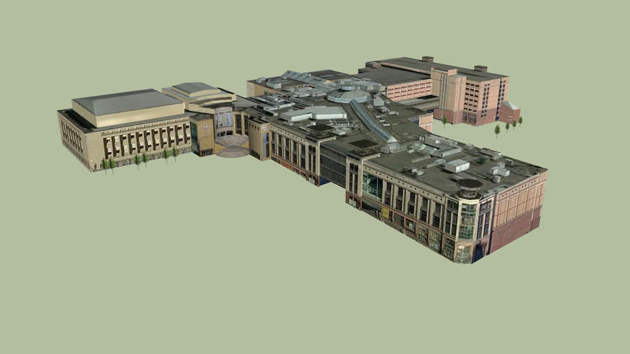 Buchanan Galleries and Glasgow Royal Concert Hall