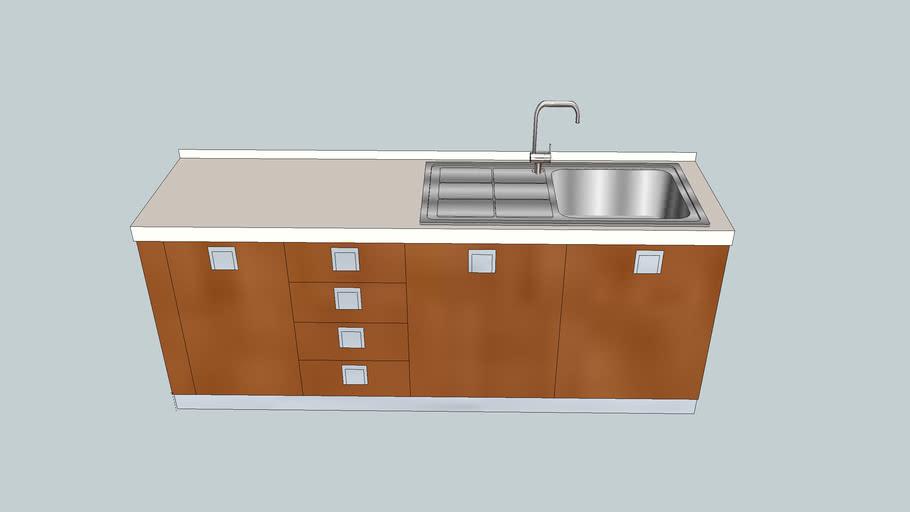 mobile cucina con lavello