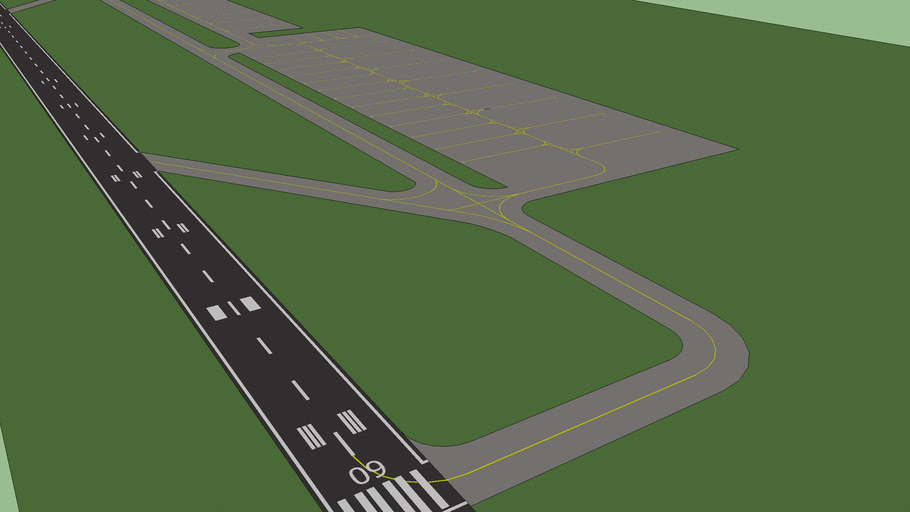 Airport manoeuvring area