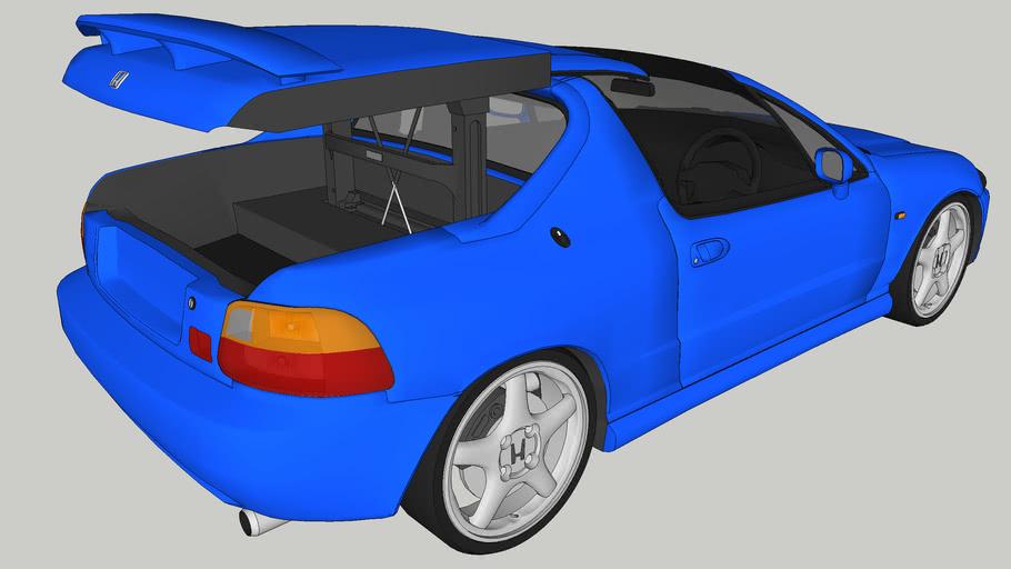 Honda CR-X Del Sol - Transtop