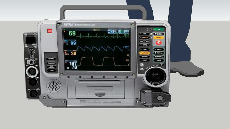 Lifepak 15 Monitor/ Defib