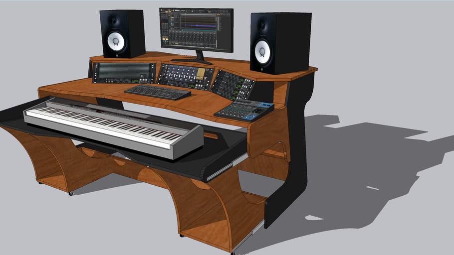 Studio desk X2 variation