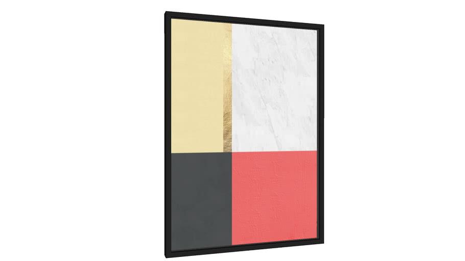 Quadro Texturas geométricas VII - Galeria9, por Arte Decor