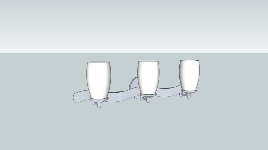 3 Sconce Vanity Light