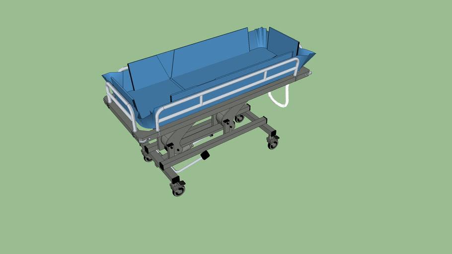 Barella BP31_Paediatric Shower Trolley