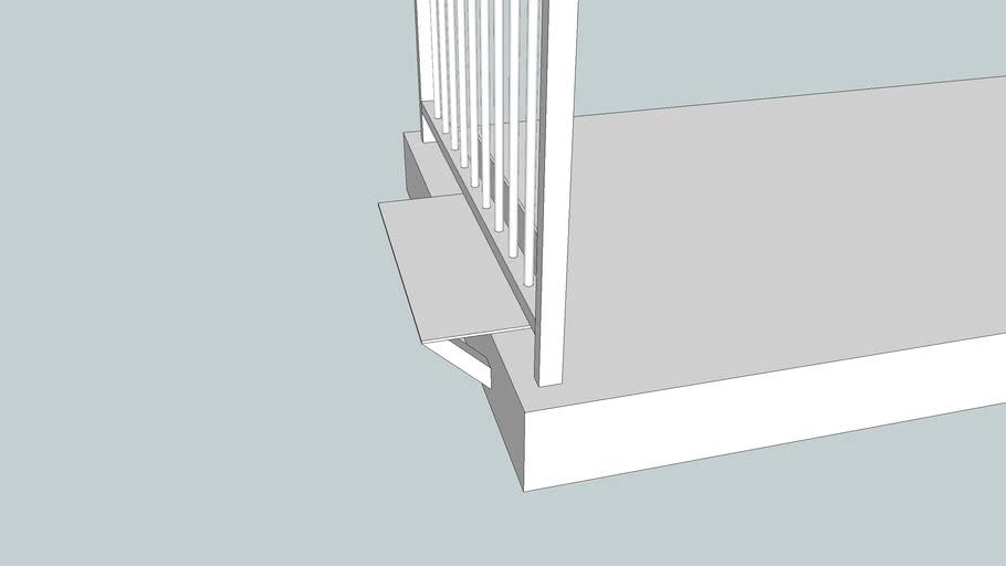 balcony shelf