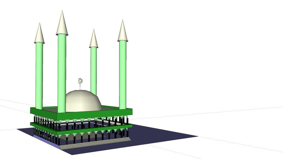 Purwoko's Mosque