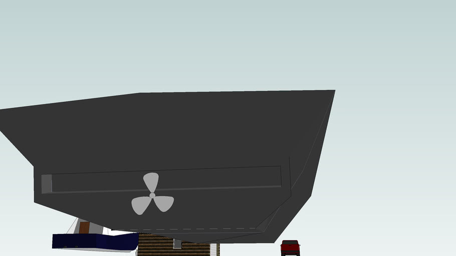 A STEALTH BOAT