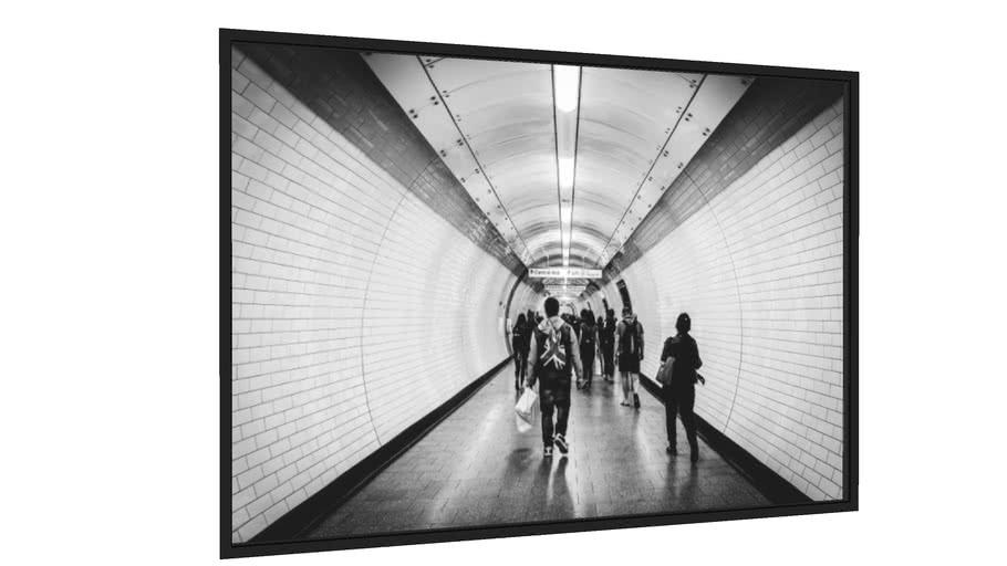 Quadro London Underground - Galeria9, por Fabrizio Neitzke
