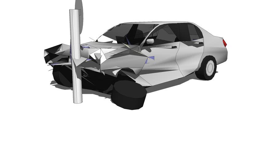 Car Sedan Crash