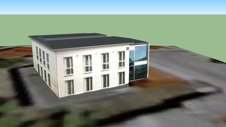 Putbus Rathaus  Hinten