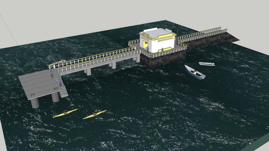 Ponte Ilha do Senhor Bom Jesus dos Passos