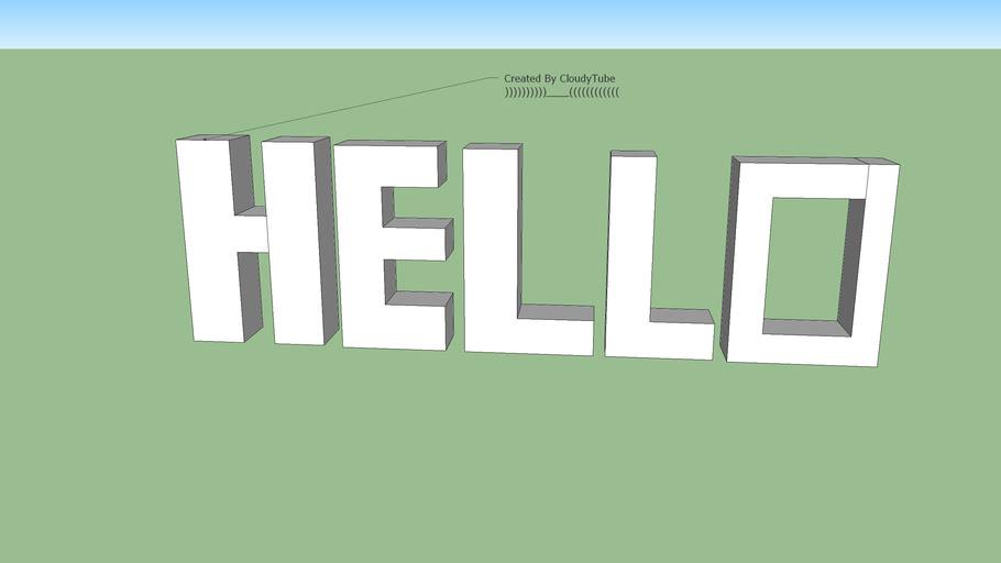 Hello ( 3..D.. )