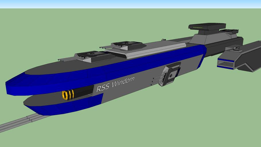 ECS-101 Windom Class Stealth Cruiser