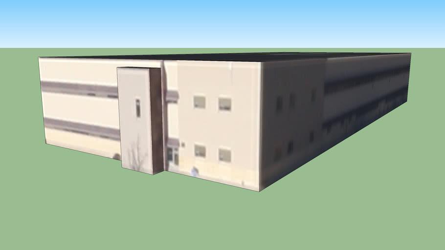 Edifício da Albuquerque, NM, USA