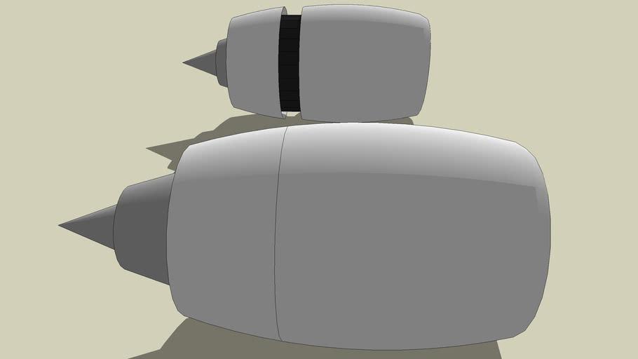 Rolls Royce Trent 800 Engines