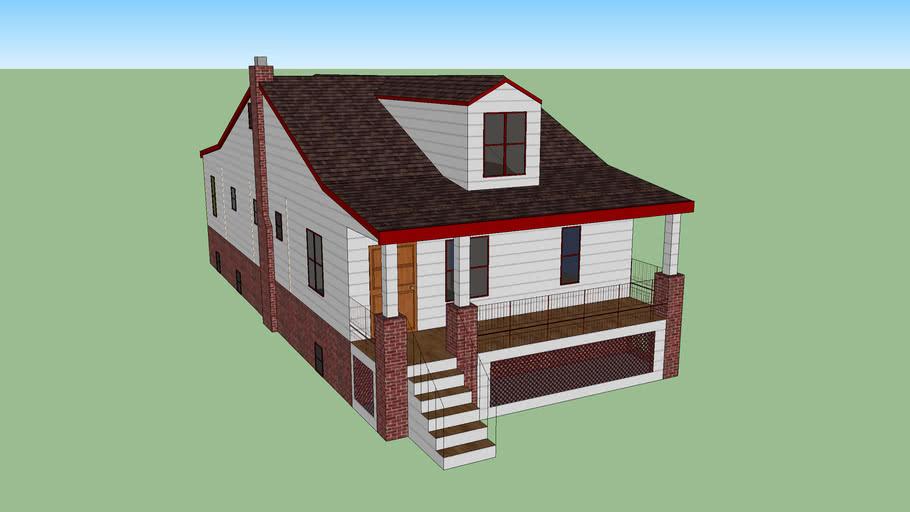 Craftsman Home with dormer windows