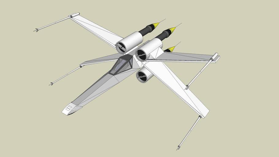 Star Wars X-Wing fighter