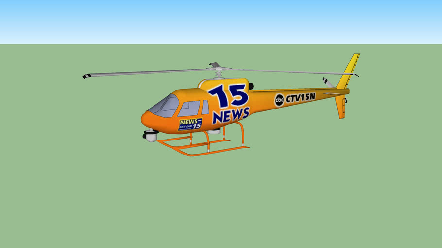 Channel 15 News Helicopter
