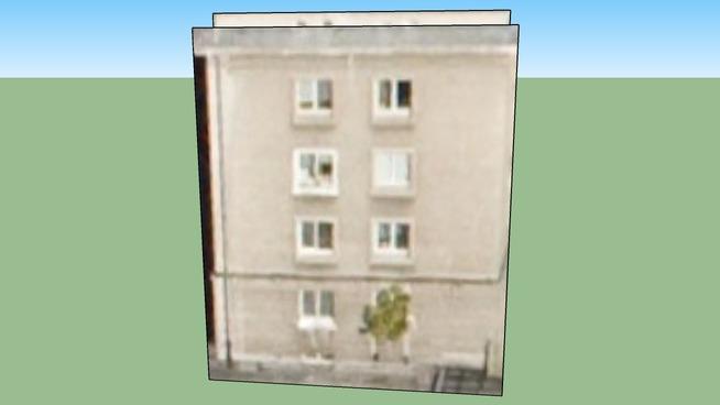 Budynek w  Warszawie,  Polska