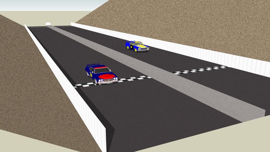 NASCAR Drag Race