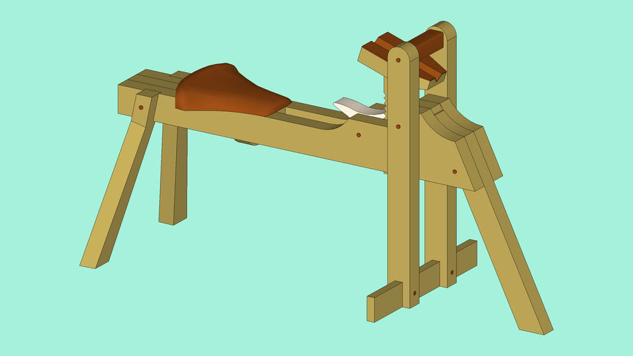 Shaving Horse - Brian Boggs - Fine Wood Working