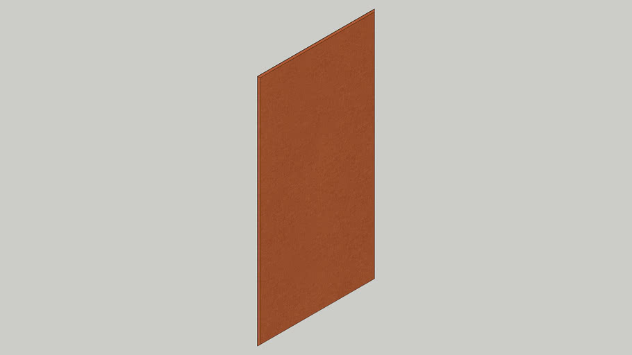 Fabrix Bevel-15mm Xtra-15-Terracotta