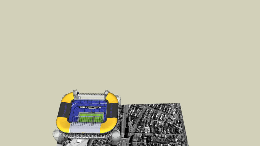edited real madrid stadium