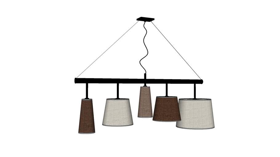Kare Design Pendant Lamp Parecchi Black 140