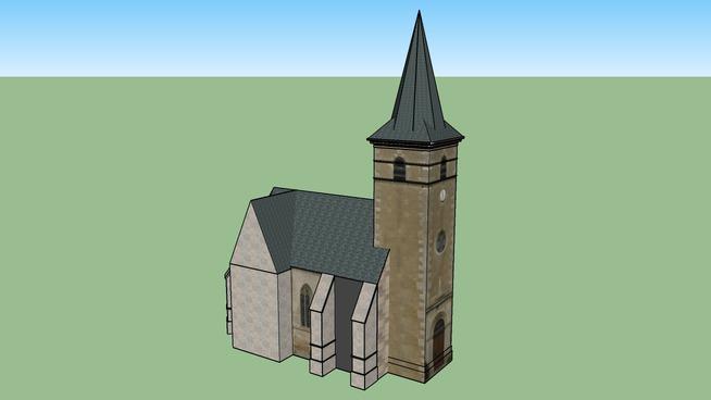 Eglise de Ouagne (Nièvre)