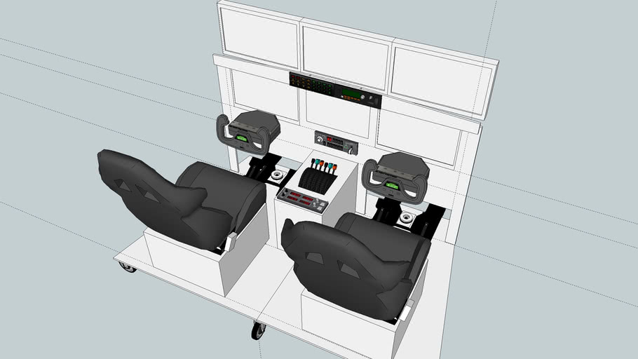 Flight Simulator Cockpit - Rev 2