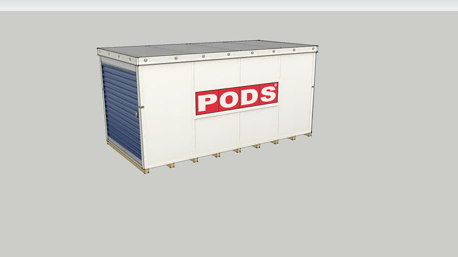 PODS Storage Container - 8'x8'x16'