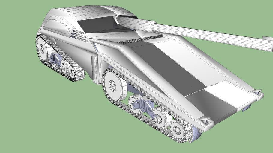 Tanque futurista