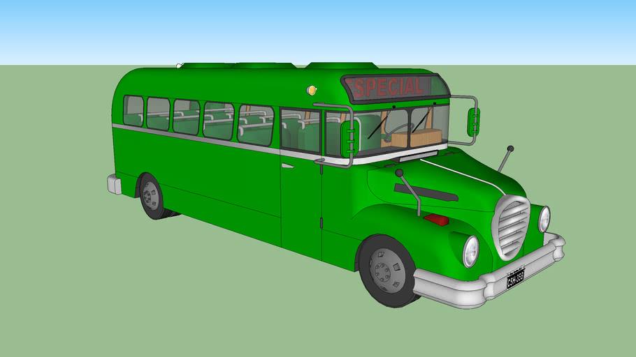Antiguo autobús Man